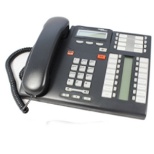 Nortel Norstar T7316 Standard Telephone Charcoal NT8B27 REFURB WARRANTY